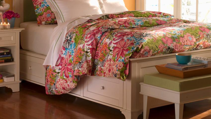 dřevěné postele 100 x 200