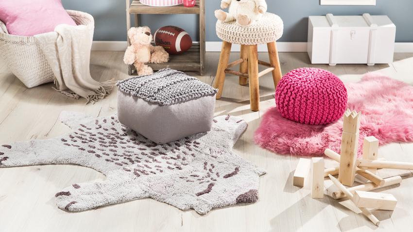 dětský koberec ve tvaru medvěda