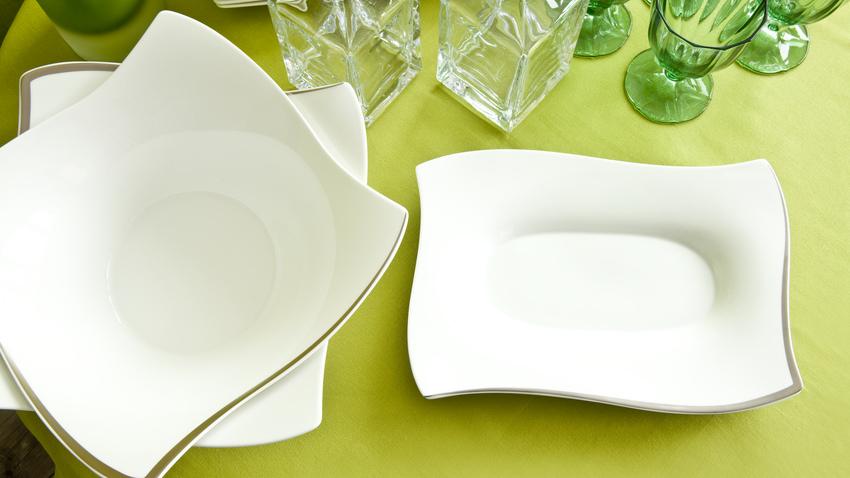 moderní oválný talíř