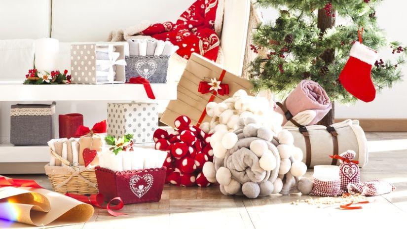 stylové vánoční dekorace