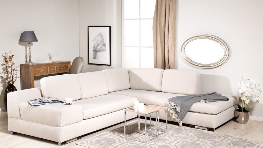 bílé rozkládací pohovky 160 x 200
