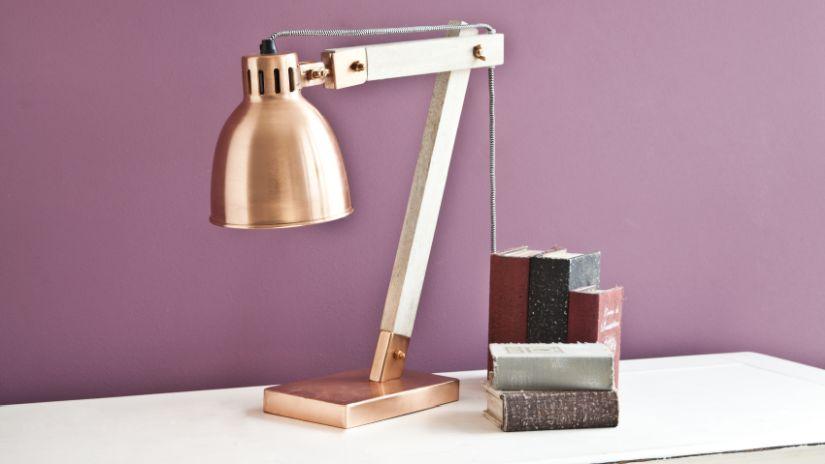 stolní retro lampy