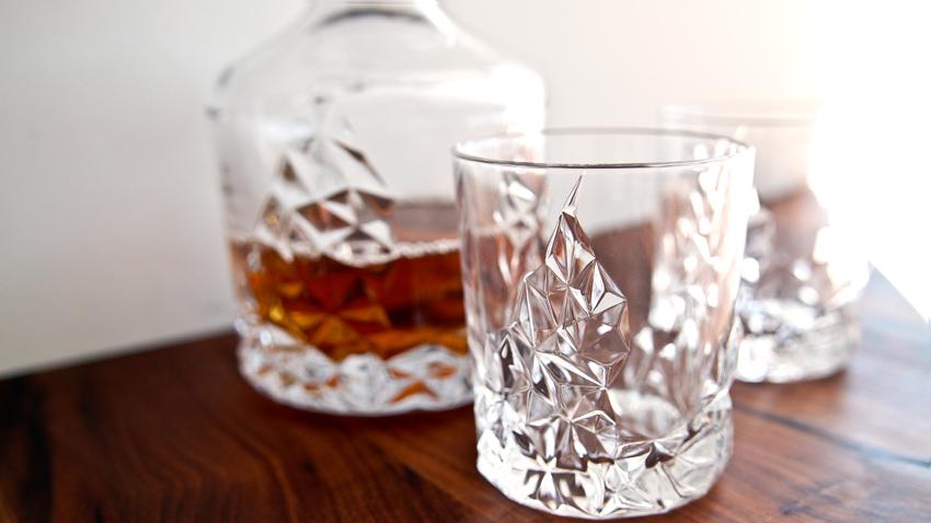 krásné skleničky na whisky