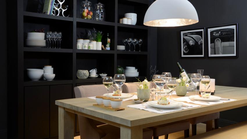 skandinávský design - jídelní stůl