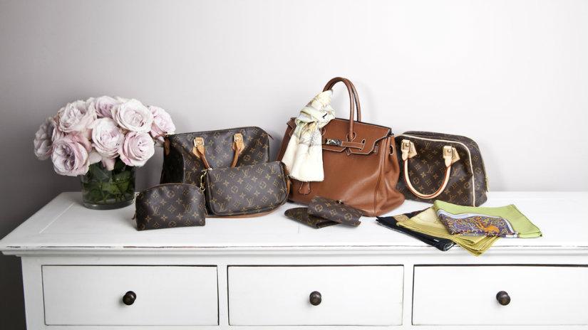 vintage kabelky Louis Vuitton