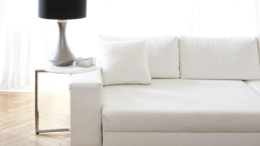 látková pohovka s postelí