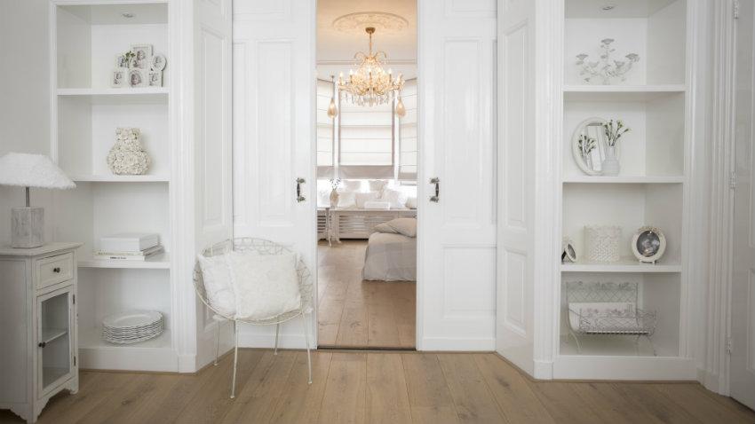 francouzský styl - obývací pokoj