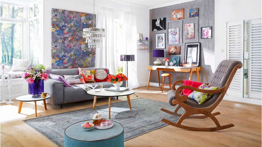 stylové zařízení obývacího pokoje