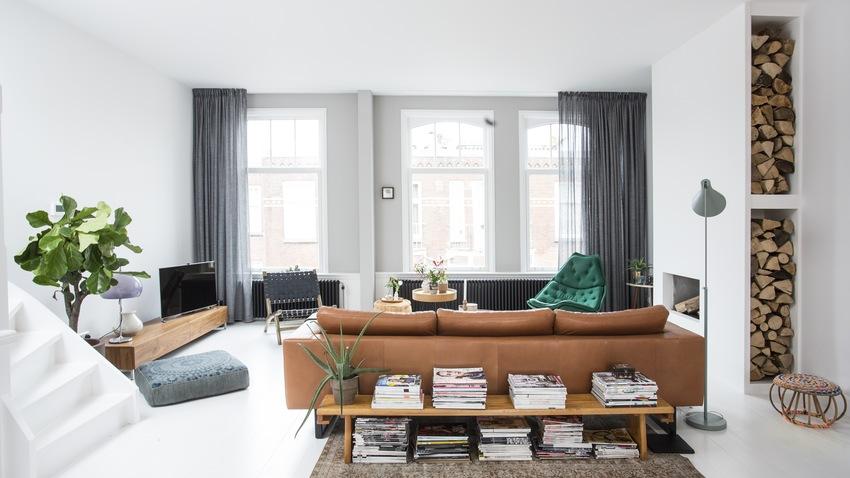 krásné zařízení obývacího pokoje