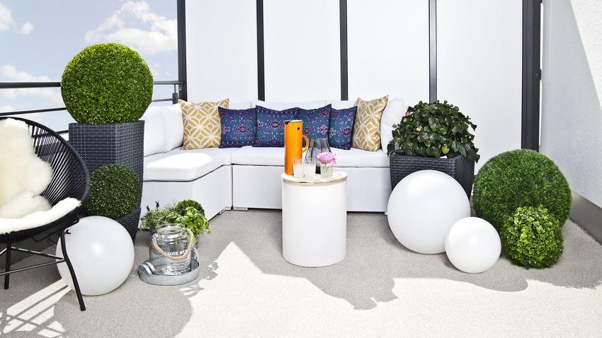 střešní terasa - lounge nábytek