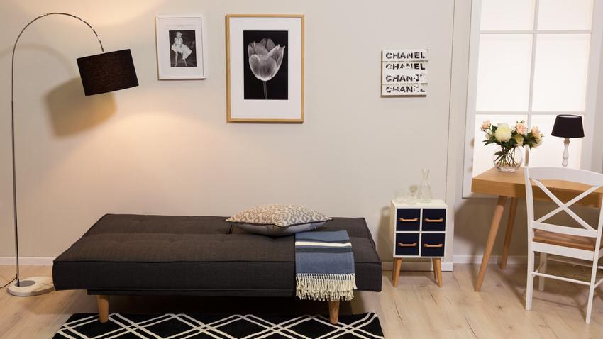 ložnice a pracovna