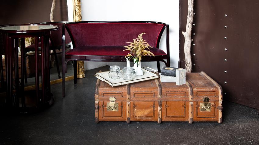 koloniální styl - kufr