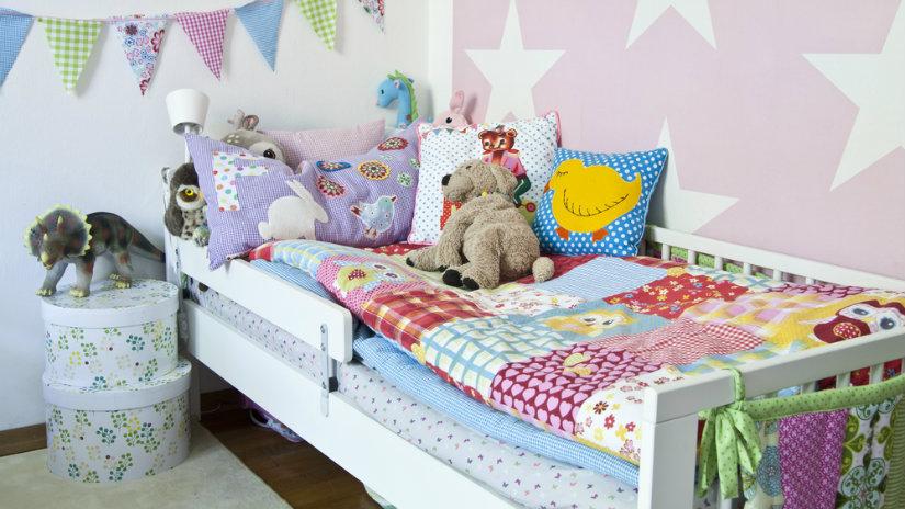 dětská postel patchwork