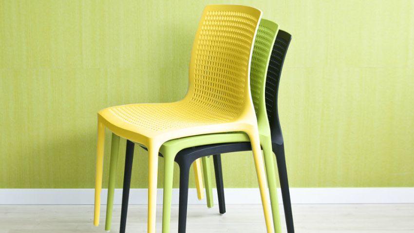 Stohovatelné židle