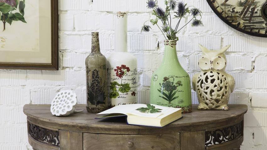 vintage dekorativní lahve