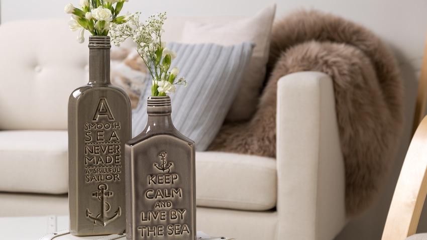keramické dekorativní lahve