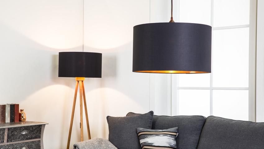 stylové textilní stropní svítidlo