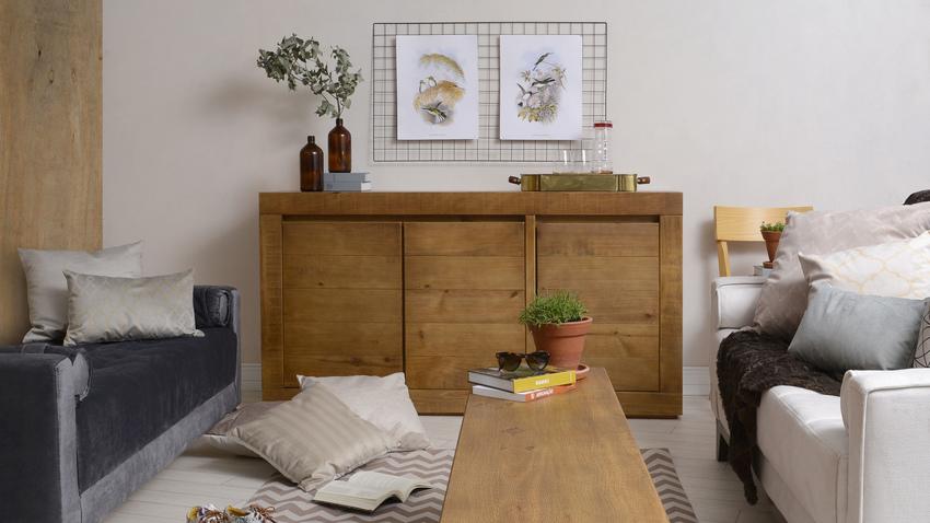 nábytek z masivu - komoda