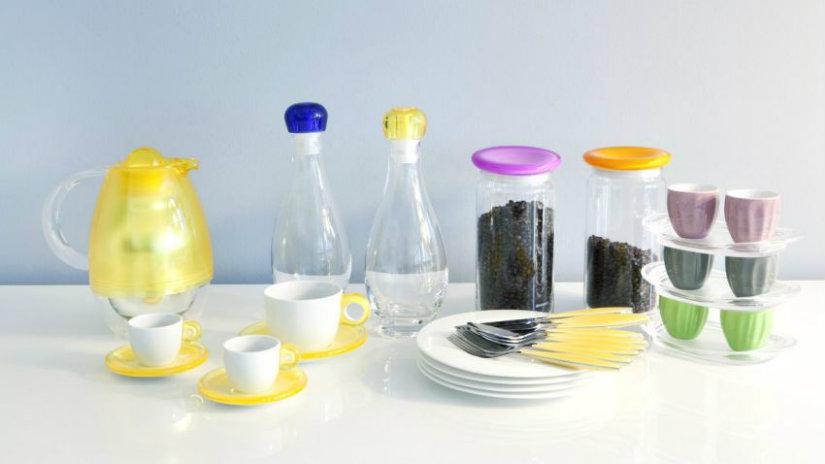 plastové dózy