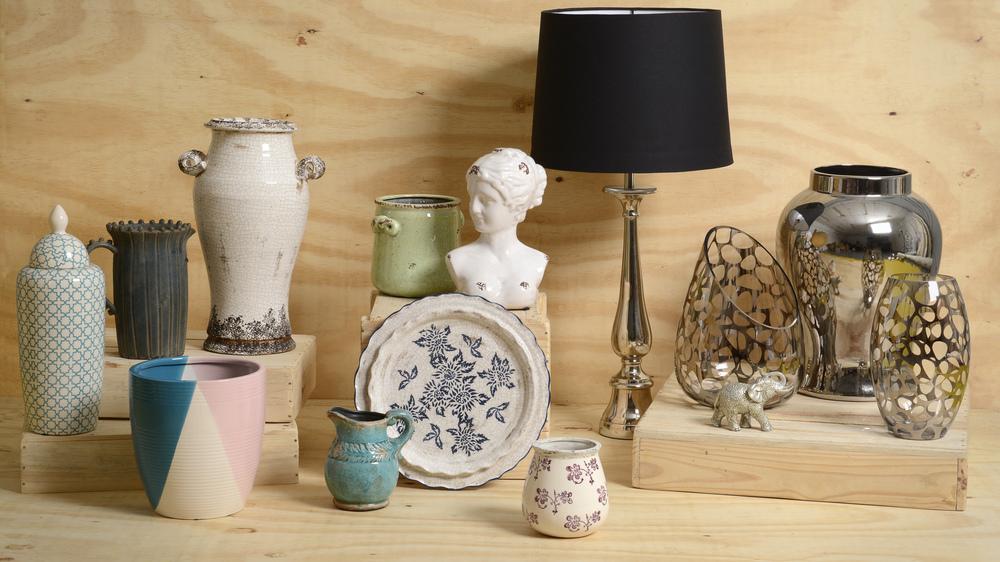 látkové stínidlo na lampu