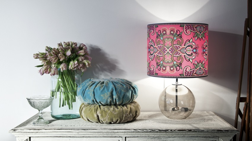 Stínidlo na lampu