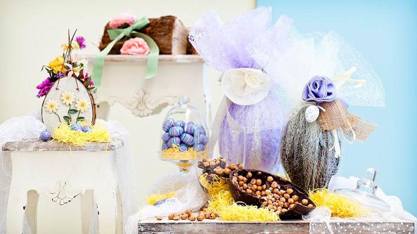 barevné velikonoční dekorace
