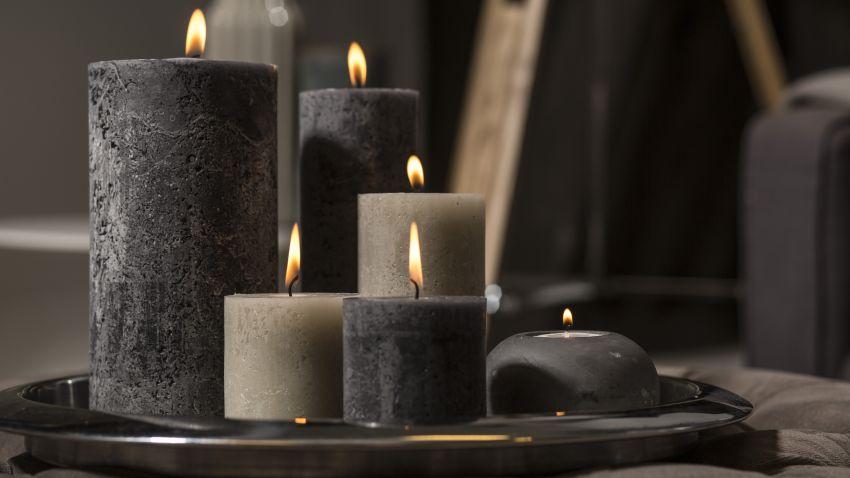 vysoké svíčky