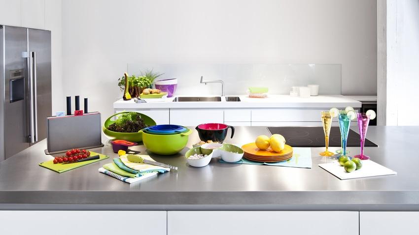zelené kuchyňské prkénko