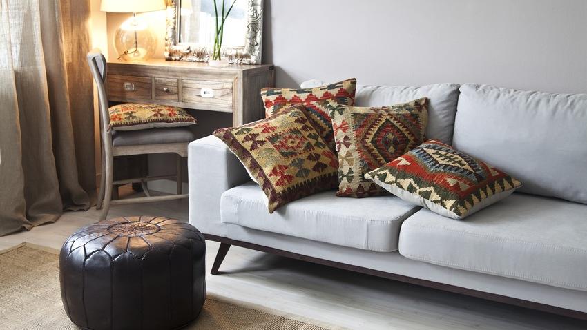 vintage koberec Kelim