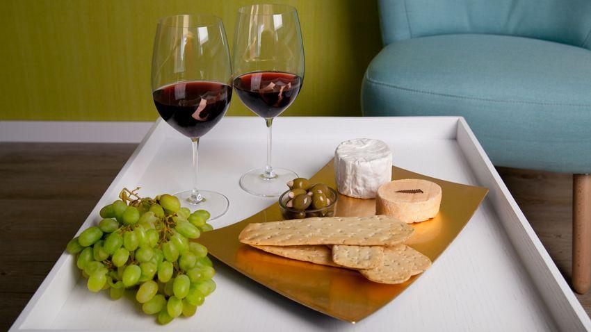 malé sklenice na víno