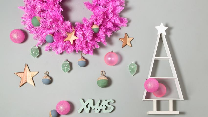 extravagantní vánoční věnec
