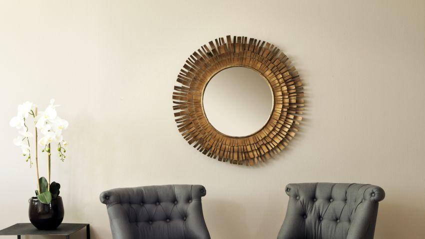 stylové zlaté zrcadlo
