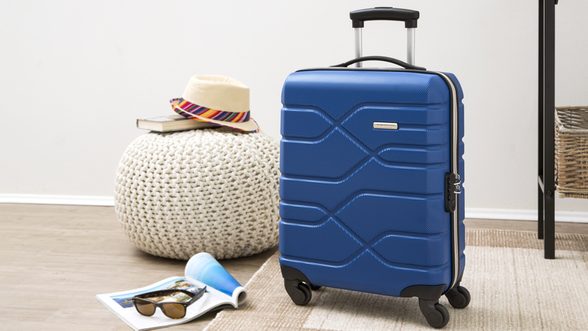 Skořepinový kufr