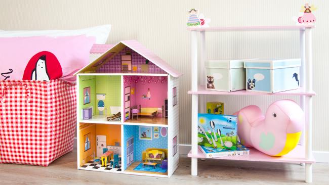 Babyzimmer gestalten mit Puppenhaus