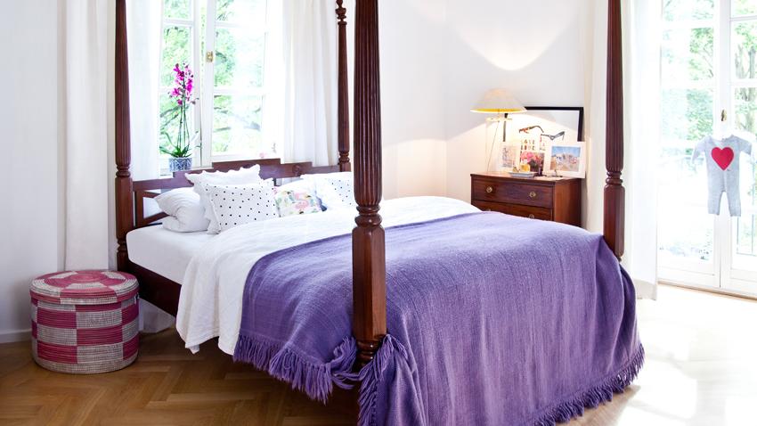 bettüberwurf patchwork: bis zu -70% reduziert | westwing - Patchwork Tagesdecke Bettuberwurf Schlafzimmer