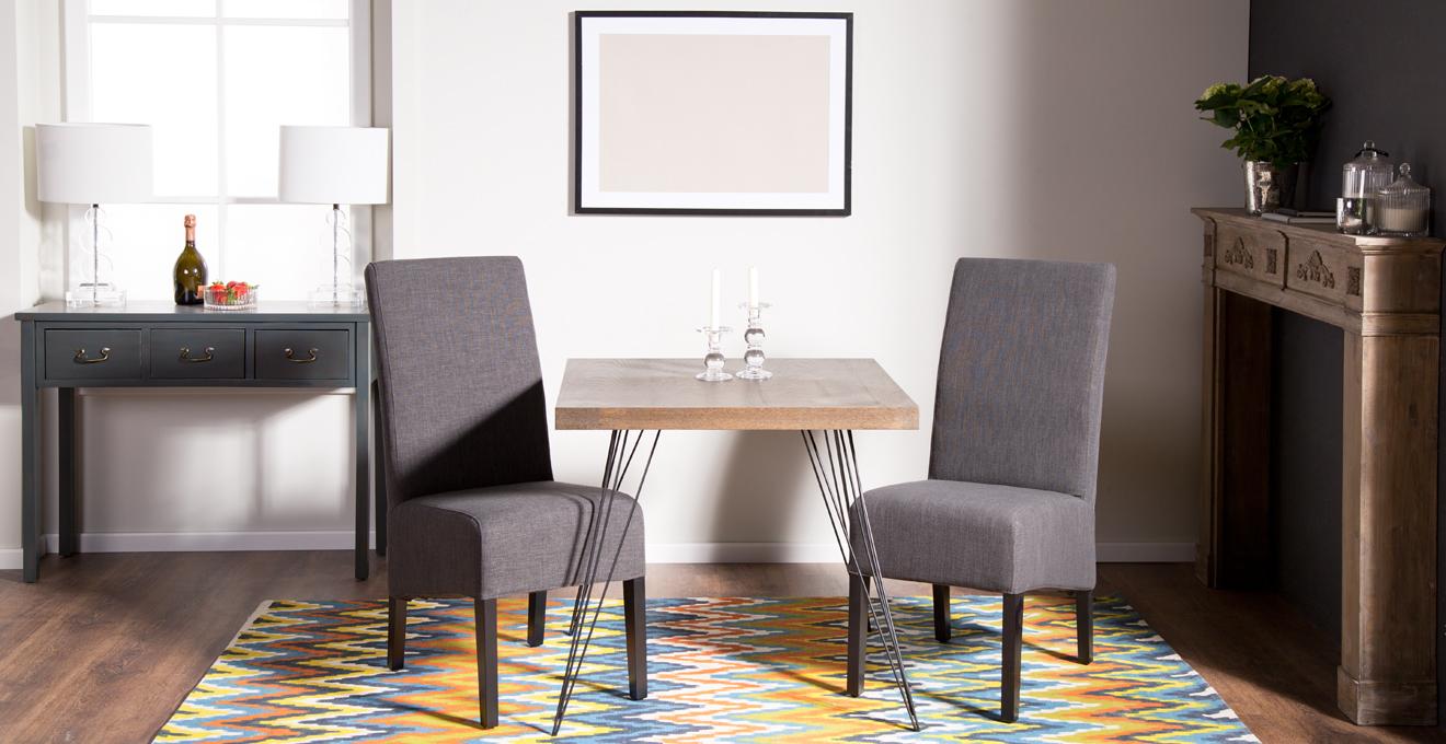 esszimmerstuhl grau rabatte bis zu 70 westwing. Black Bedroom Furniture Sets. Home Design Ideas