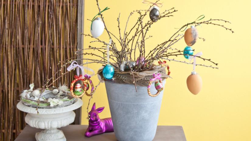Ostergeschenke selber machen mit Backen und Basteln