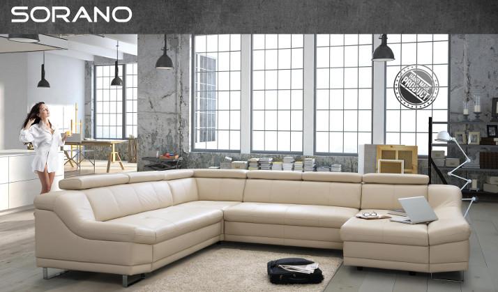 Sino-Living weiße Couchgarnitur