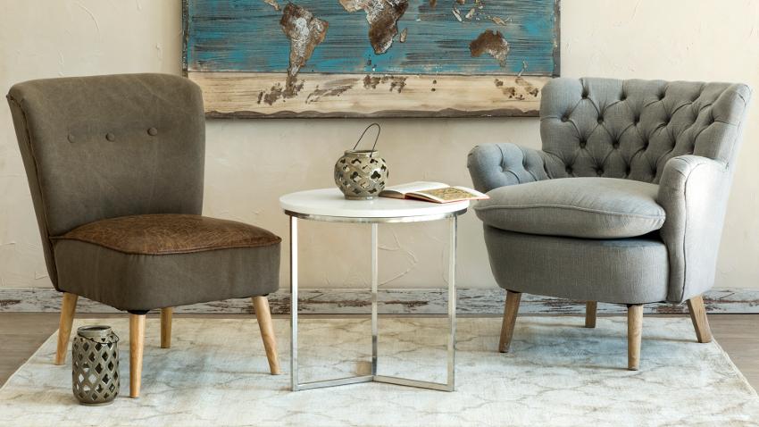 Butacas elegantes y sofisticados asientos westwing - Poltroncina da camera da letto ...