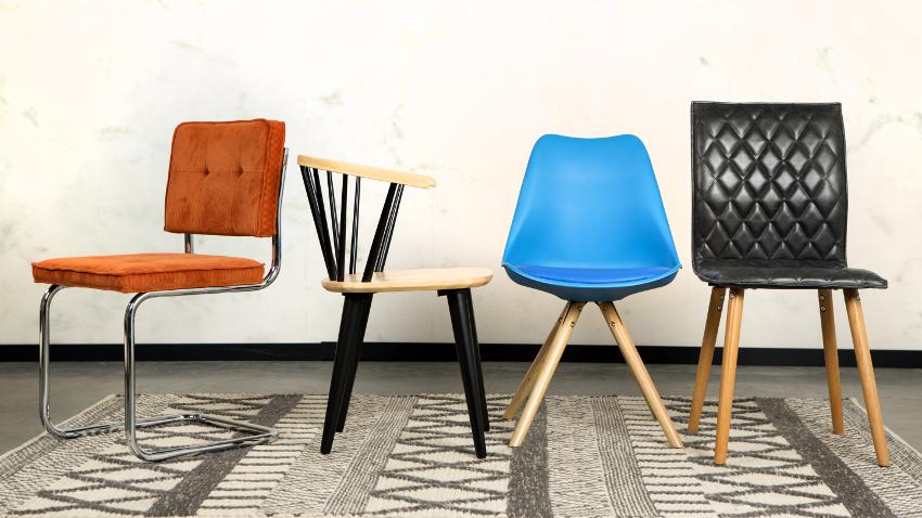 Sillas de oficina trabaja como en casa westwing for Sedia anni 50 design