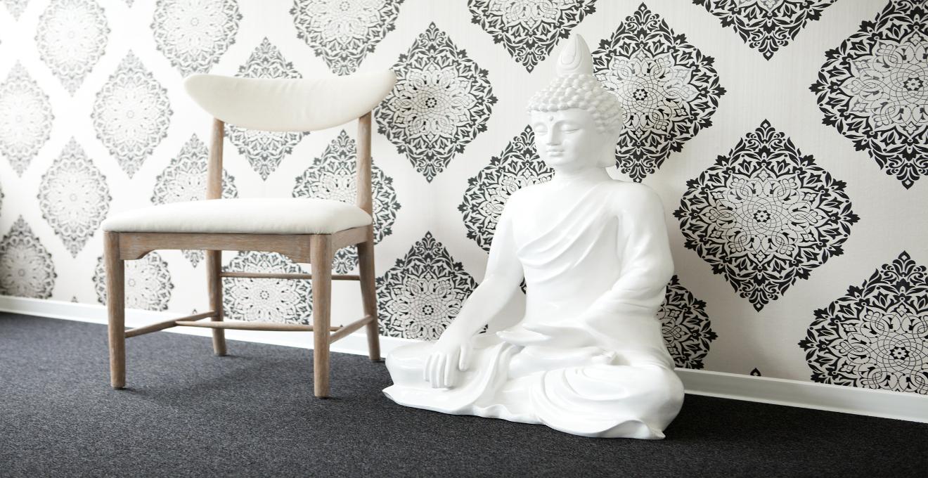 Papel Pintado A Rayas Cl Sico De La Decoraci N Westwing ~ Papel Pintado Dormitorio Blanco