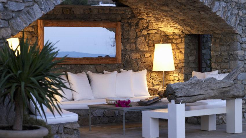 Luces de jard n iluminaci n elegante de exterior westwing - Iluminacion de jardines ...