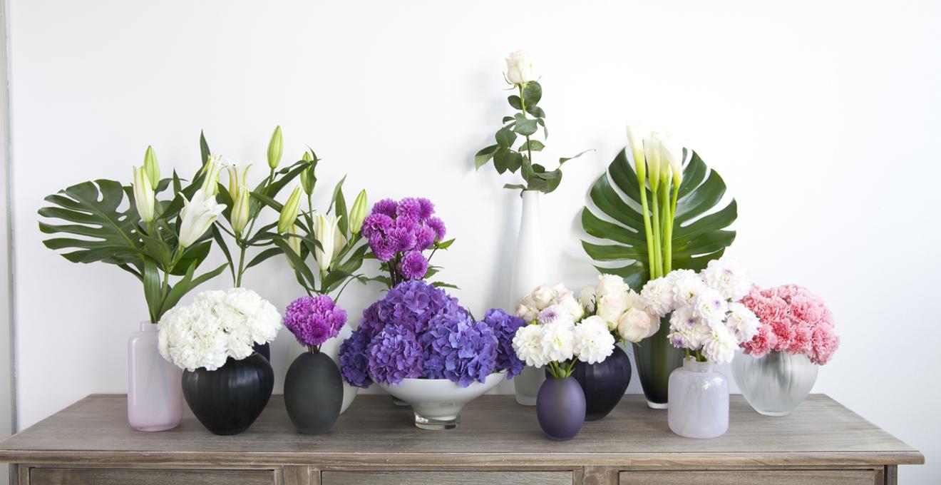 Floreros dale un toque alegre a tu espacio westwing - Decoracion con plantas artificiales ...