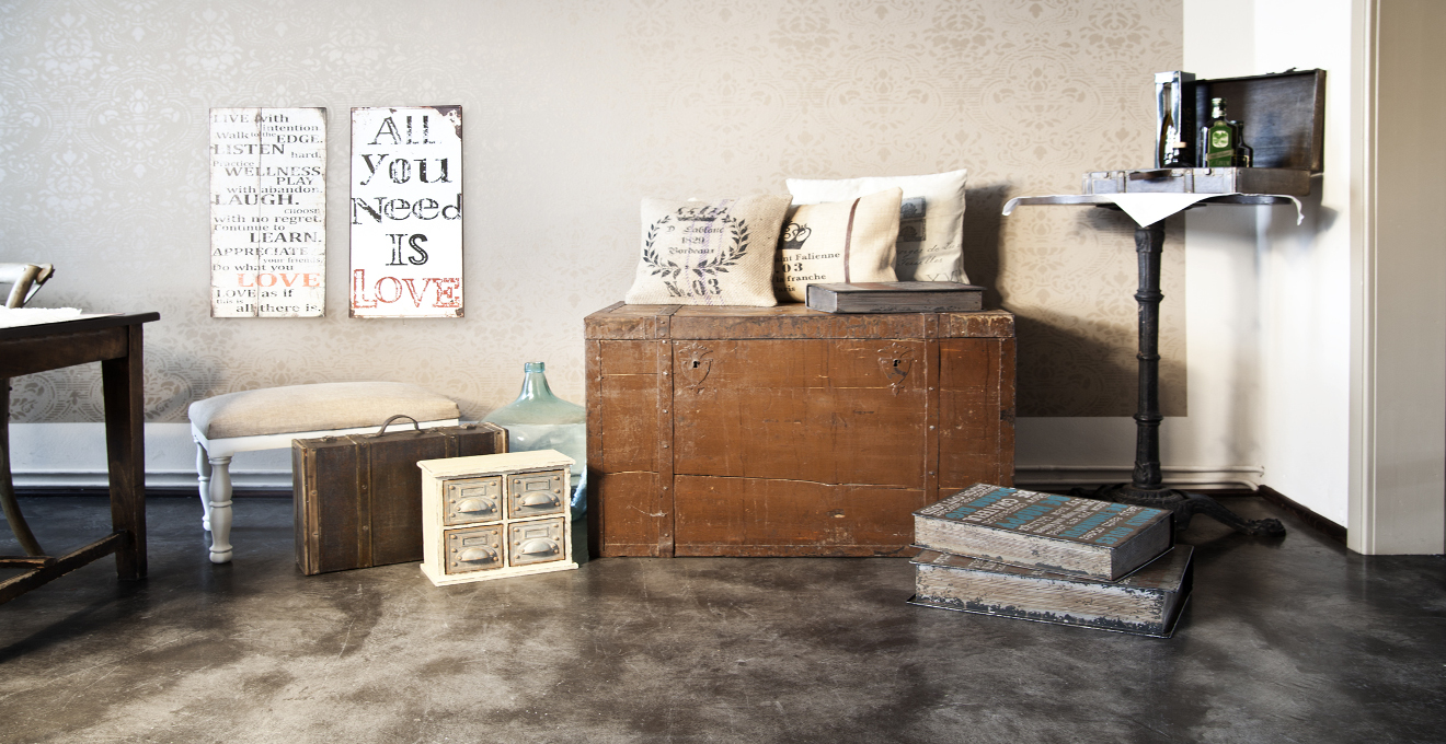 Botones descubre una gran variedad en westwing - Decoracion industrial vintage ...