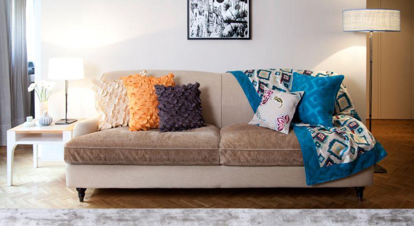 Fundas de sof diferentes estilos para tu sof westwing - Fundas cojines sofa ...