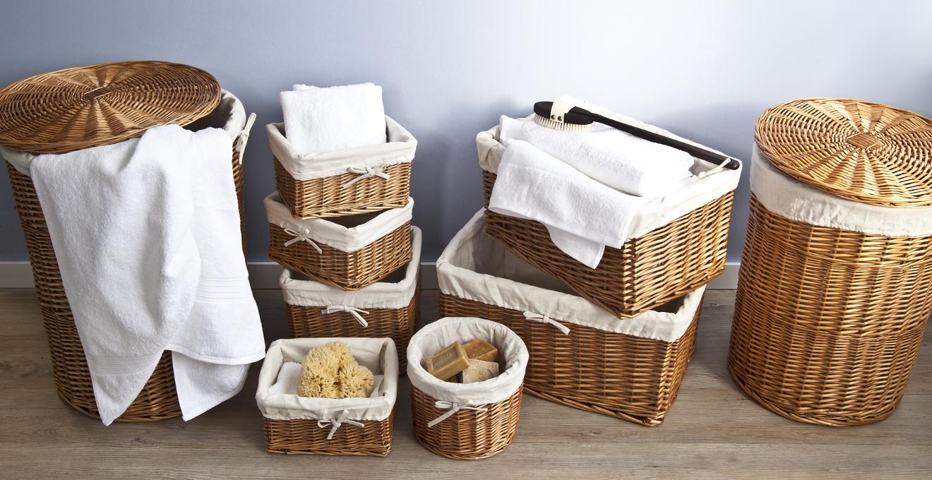 cestas de mimbre - Como Decorar Cestas De Mimbre