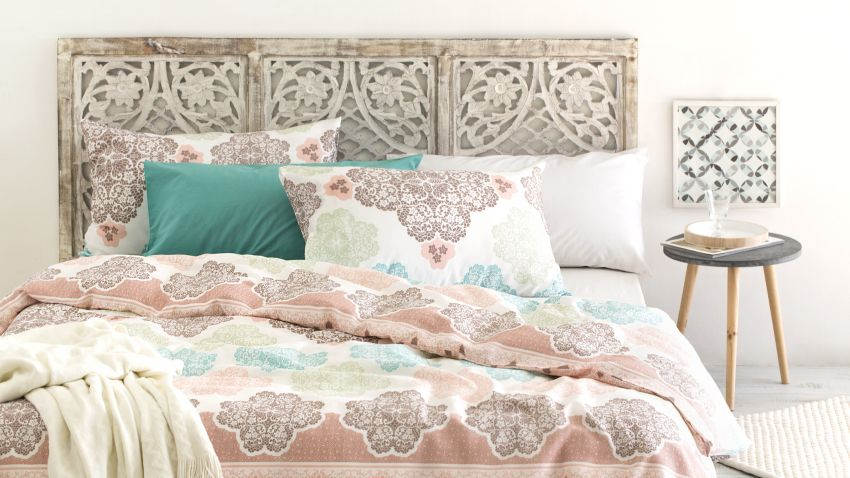 Cabeceros cama tapizados tela good cabecero tapizado - Telas para forrar cabecero cama ...