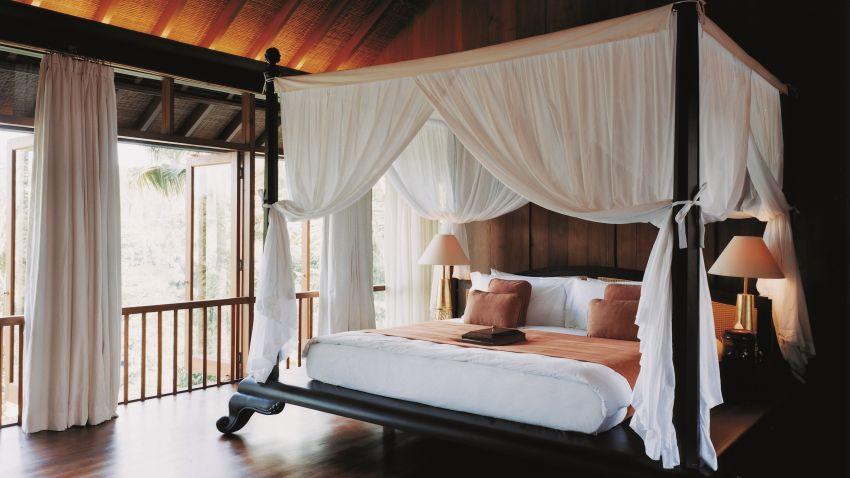 dosel casero  una cama de palacio asequible