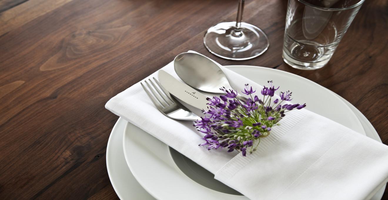 Doblado de servilletas para decorar la mesa