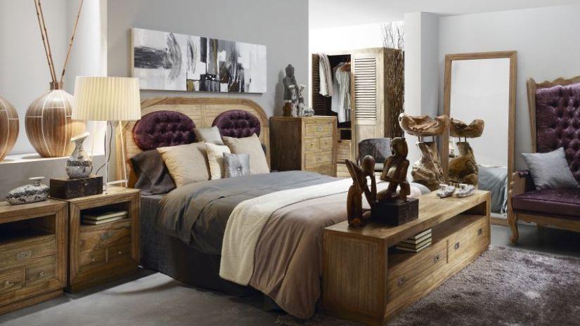 Diseño de dormitorio colonial Moycor